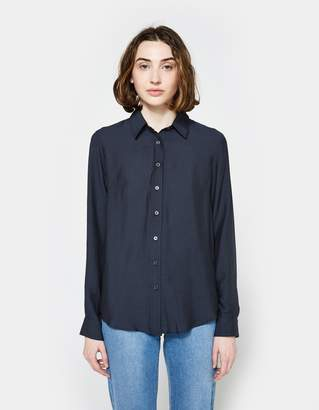 Need Form Blouse in Navy
