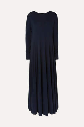 Jil Sander Jersey Maxi Dress - Navy