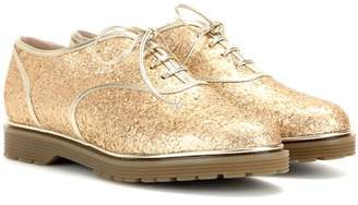 Charlotte Olympia Stefania glitter-embellished Oxford shoes