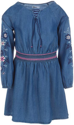 39985a57f0b0 Epic Threads Little Girls Embroidered Cold Shoulder Dress