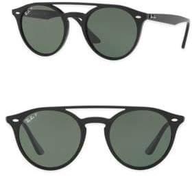Ray-Ban 51mm Phantos Round Sunglasses