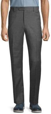 Saks Fifth Avenue Classic Wool Flannel Pants