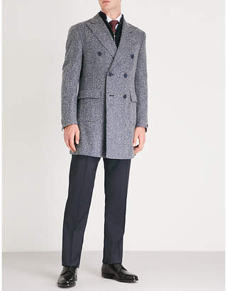 Corneliani Herringbone wool-blend jacket
