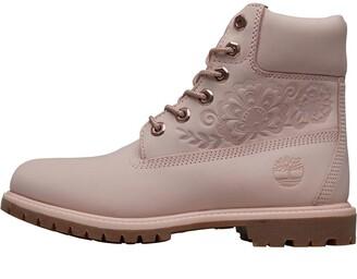 Timberland Womens 6 Inch Premium Boots Chintz Rose