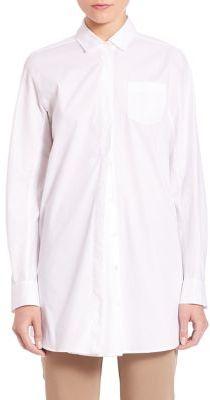 Max MaraWeekend Max Mara Leale Pleat Long Sleeve Shirt