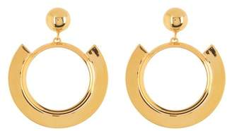 Trina Turk Disc Hoop Earrings
