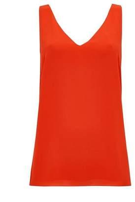 Wallis Orange V-Neck Camisole Top