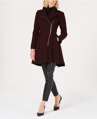GUESS Asymmetrical Skirted Walker Coat