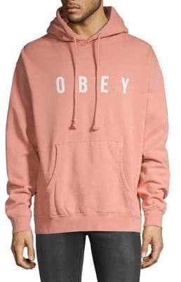 Obey Anyway Pigment Fleece Hoodie