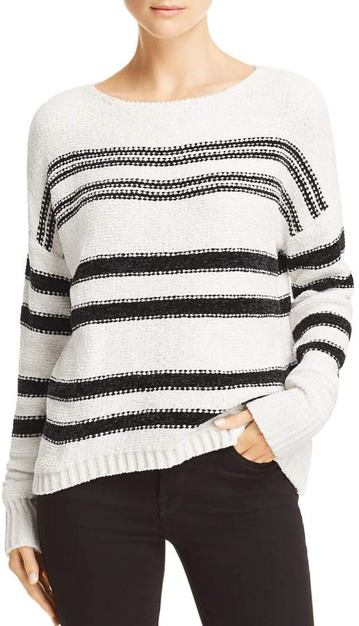 Striped Chenille Sweater - 100% Exclusive