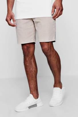 boohoo Corduroy Drawstring Woven Shorts