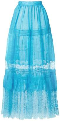 Ermanno Scervino high-waisted tulle skirt