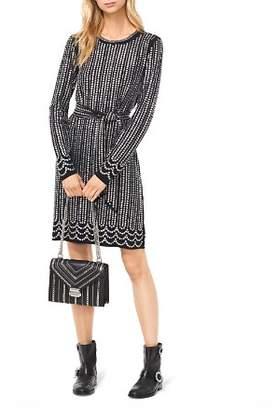 MICHAEL Michael Kors Studded Matte-Jersey Dress