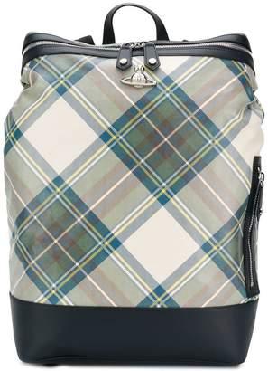 Vivienne Westwood tartan box backpack