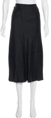 Jason Wu Silk Midi Skirt