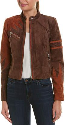 Bagatelle Phoenix Suede Moto Jacket