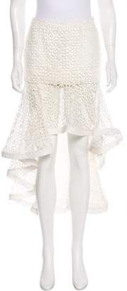 Alexis Lace Midi Skirt