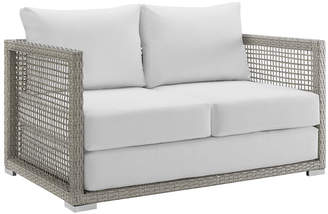 Modway Outdoor Aura Outdoor Patio Wicker Rattan Loveseat