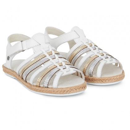 UGG Greta Gold Open-Toe Sandals