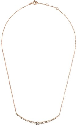 As 29 AS29 18kt rose gold Mye diamond necklace