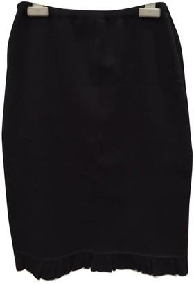 Rena Lange Blue Wool Skirt for Women
