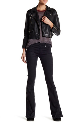 True Religion The Runway Legging Flare Jean $179 thestylecure.com
