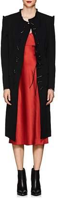Yohji Yamamoto Women's Cutout-Shoulder Wool Coat