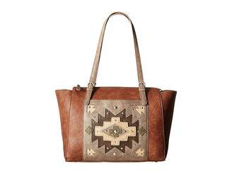 American West Earth Bound Zip Top Tote