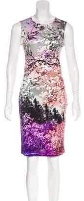 Mary Katrantzou Silk Floral Print Dress