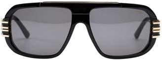 Cazal Black Plastic Sunglasses