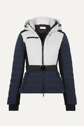 Erin Snow Kat Color-block Quilted Ski Jacket