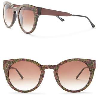 Thierry Lasry Women's Green Vintage Pattern Black Sunglasses