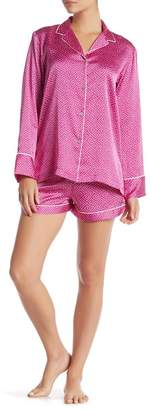 Natori Labyrinth Printed Pajama 2-Piece Set