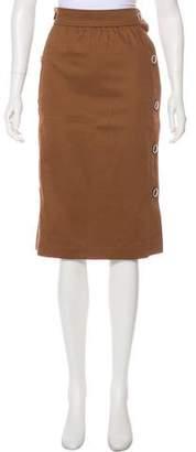 Saint Laurent Vintage Knee-Length Skirt