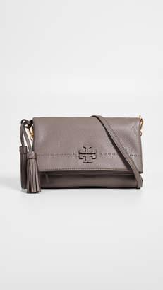 Tory Burch Mcgraw Chain Fold-Over Crossbody Bag