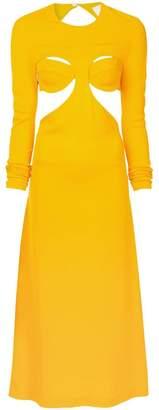 Dion Lee open back bra dress