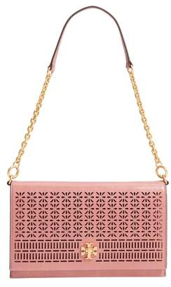 Tory Burch Kira Perforated Leather Clutch