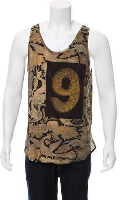 Dries Van Noten Knit Abstract Tank