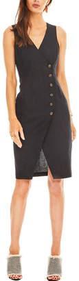 Earthy Chic Black Linen Dress