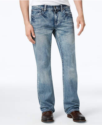 Inc International Concepts Men's Medium Wash Boot-Cut Jeans, Created for Macy's $49.98 thestylecure.com
