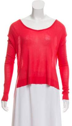 Elizabeth and James Scoop Neck Long Sleeve Sweater