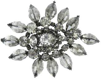 Erickson Beamon Grey Crystal Pins & brooches