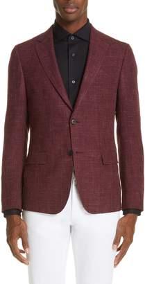 Ermenegildo Zegna Wool & Silk Melange Sport Coat