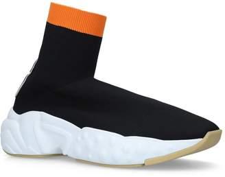 Acne Studios Logo Runner Sock Sneakers