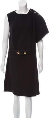 Marni One-Shoulder Knee-Length Dress