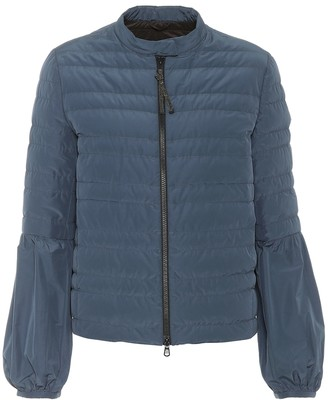 Brunello Cucinelli Quilted taffeta down jacket
