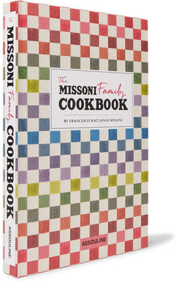 Assouline The Missoni Family Cookbook Hardcover Book