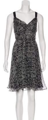 DKNY Silk Midi Dress