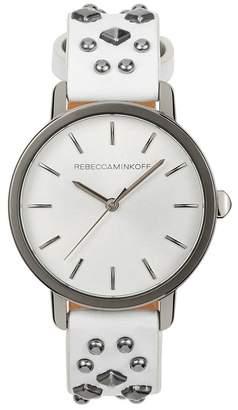 Rebecca Minkoff BFFL Studded Leather Watch, 36mm