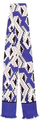 Gucci Geometric Print Silk Scarf w/ Tags
